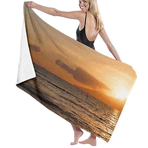Grande Suave Ligero Microfibra Toalla de Baño Manta,Lahaina, Maui, Hawái,Hoja de Baño Toalla de Playa por la Familia Hotel Viaje Nadando Deportes Decoración del Hogar,52' x 32'