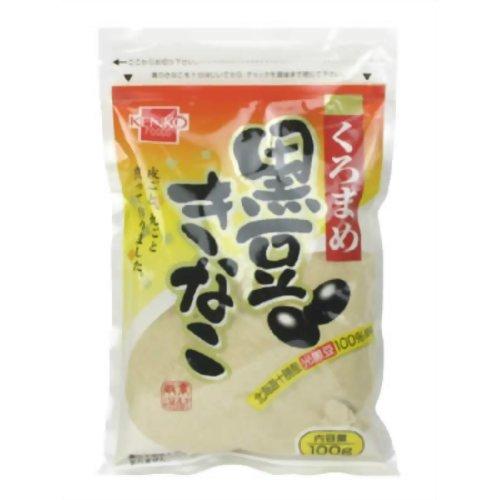 健康フーズ 北海道産光黒豆使用 黒豆きな粉 100g