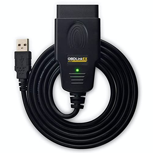 OBDLink ScanTool EX USB - Valise/Outil Diagnostic Auto Professionnel MultiMarques - Compatible OBD2 / RenoLink/ForScan/MultiECUScan