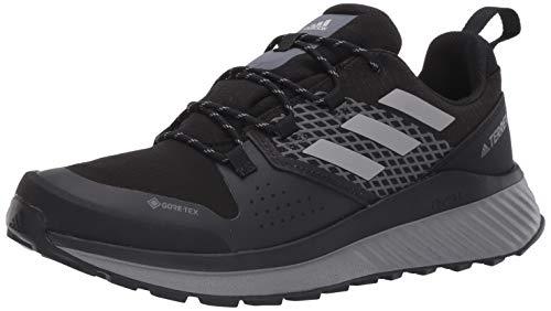 adidas outdoor Men's Terrex Bounce Hiker GTX Hiking Boot, Black/Grey Three/Grey one, 8 M US
