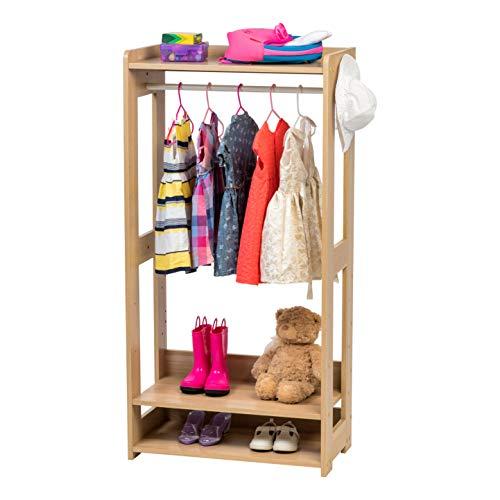 IRIS Compact Wood Garment Rack, Natural