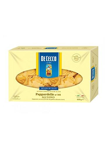 5x Pasta De Cecco 100% Italienisch Pappardelle n. 301 Nudeln mit ei 500g
