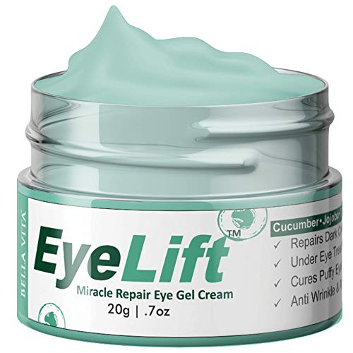 Bella Vita Organic EyeLift Under Eye Cream Gel for...
