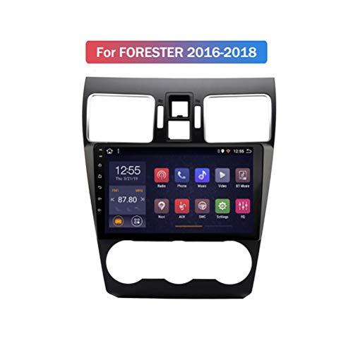 HP CAMP 8 Core Multimedia Coche con Pantalla Táctil para Subaru Forester 2016-2018, Car Stereo Soporte BT/Mirror Link/USB/SWC/Cámara Trasera/FM/Google Map/Multi-Lingual,4g WiFi 2g+32g