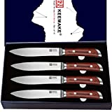 KEEMAKE steak knives set