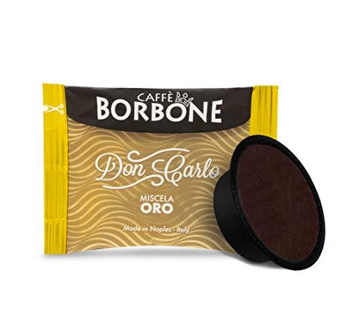 Caffè Borbone Don Carlo Miscela Oro, Confezione da 100 Capsule