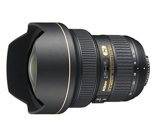 Nikon Obiettivo Nikkor AF-S 14-24 mm f/2.8G ED, Nero [Nital Card: 4 Anni di Garanzia]