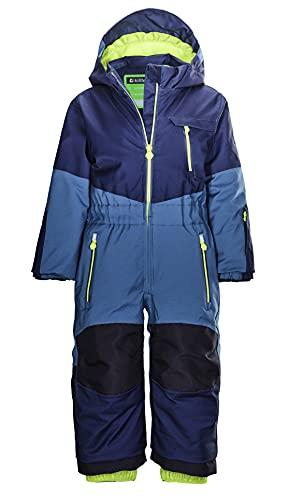 Killtec Jungen Skioverall/ Schneeanzug mit Kapuze - KW 89 MNS ONPC, sturmblau, 110/116, 37241-000
