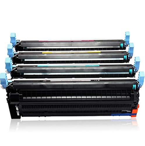 C9720A 641A Toner is compatibel met HP Color Laserjet 4600 4610 4650DTN C9721A C9722A C9723A Colour Laser Printer, 4 kleuren (9000 Pagina's in zwart, 8000 pagina's in kleur),4color combination