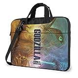 Godzilla All Protagonists Poster Shockproof Laptop Shoulder Messenger Bag Case Sleeve for 13 Inch 14 Inch 15.6 Inch Laptop Case Laptop Briefcase