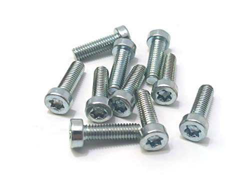 palart Brandless Lot of 10 - T25 Torx 5MM 20MM Bolt Spline Screw IS-M5x20 for 9022 371 1020