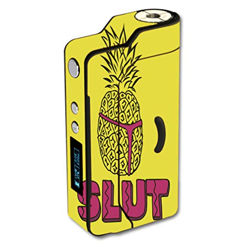 Decal Sticker Skin WRAP Slut Pineapple for Sigelei 150W Temp Control