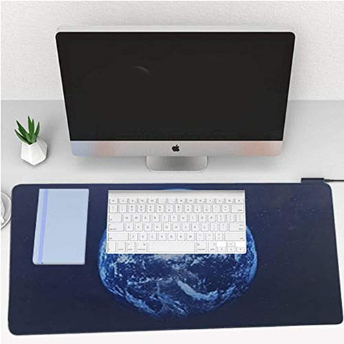Desk Gaming and Office Mouse pad for Computer, Home and Decor. Keyboard for Table, Laptop Desk, Computer Desk, Gaming pc, Great for Gaming Mouse Extended Mouse pad Durable Anti Slip, Water Resistant Photo #5