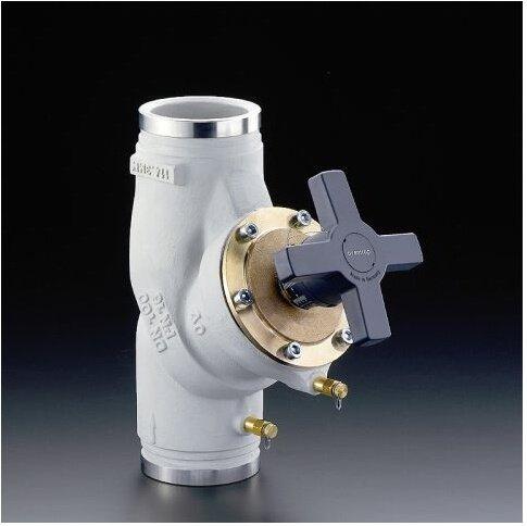 Oventrop Strang regulierventil hydroc EUROCONTROL Vgc PN 25, gris fonte DN 100, Roll connecteur Nut 114,3 mm