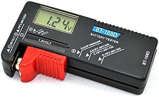 LCD液晶画面 デジタル バッテリーチェッカー バッテリーテスター 電池残量計 電池チェッカー 1.5V/9V対応 ゆうパケット限定 ◇BT-168D