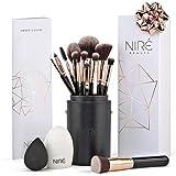 Niré Beauty Kit Artiste : Pinceaux de Maquillage et Leur Étuis de Rangement et en...