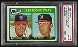 1965 Topps # 461 Braves Rookies Phil Niekro/Clay Carroll Milwaukee Braves (Baseball Card) PSA PSA 7.00 Braves. rookie card picture