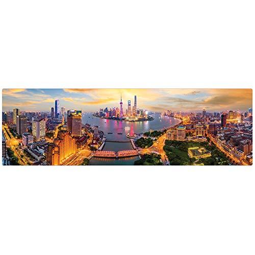 Quebra-cabeça 1500 peças - Luzes de Xangai
