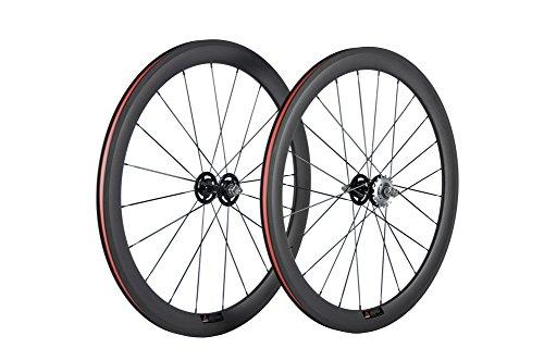 Queen Bike Carbon Fiber Fixed Gear Wheelset