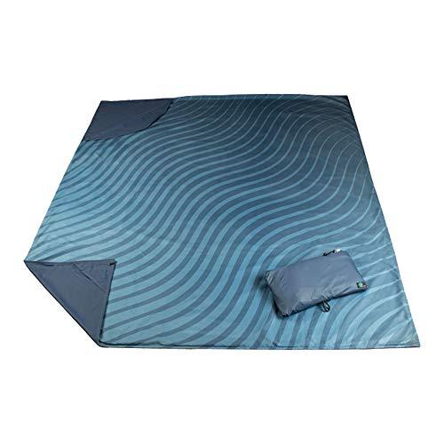 Acteon Adventure Outdoor Blanket, 8-in-1 Versatile and Waterproof Blanket, Durable Ripstop Nylon with Soft Microfiber Top, Convenient for Picnic Blanket, Camping, Beach Blanket, Travel Blanket, More