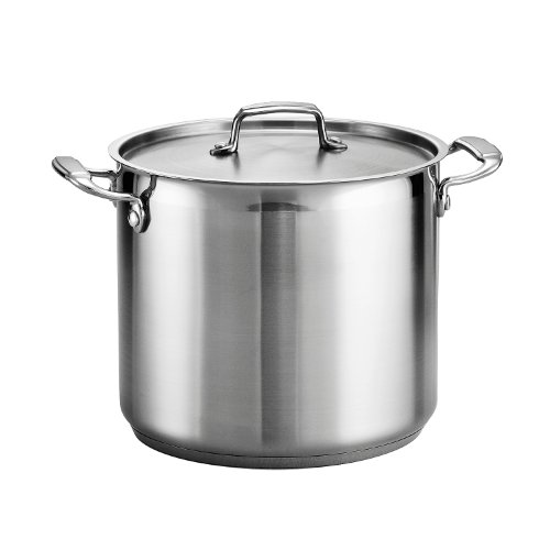 Tramontina Stock Pot, 12-Quart, Stainless Steel