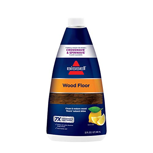 of wood floor cleaning solutions Bissell Crosswave Wood Floor Cleaning Formula, 32 oz. 1929, 32 Fl Oz