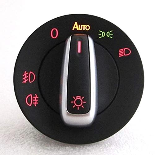 Maquer Interruptor de Faro automático módulo de Sensor de luz/Apto para VW Golf 4 Jetta MK4 Passat B5 Polo Bora Bettle/Apto para Skoda Fabia (Color: Rojo) (Color : Red Color)