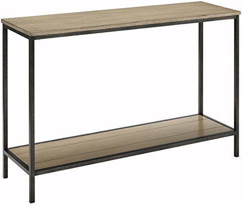Crosley Furniture Brooke Console Table - Washed Oak