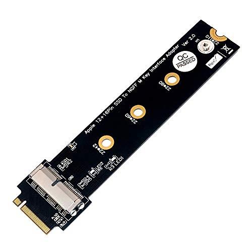 Facibom PCIe SSD auf M.2 Key M Karte für 2013/14/15/16/17 Air Pro Retina Festplatten Konverter