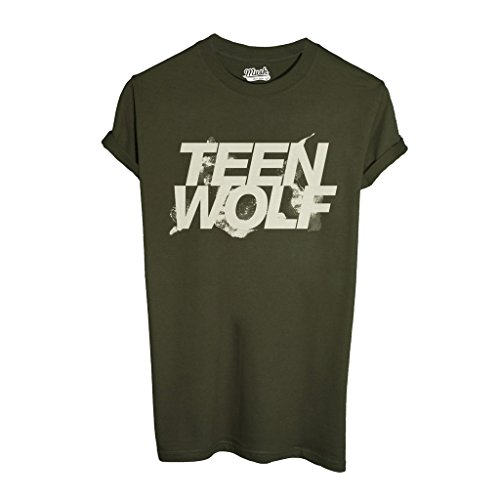 MUSH T-Shirt Teen Wolf - Film by Dress Your Style - Uomo-L-Verde Militare