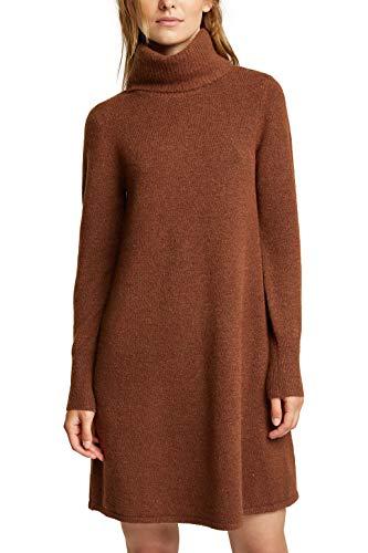 ESPRIT Damen 100EE1E329 Kleid, 214/BROWN 5, S