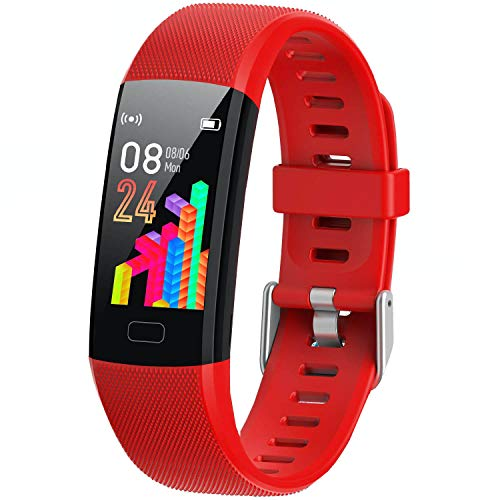 XG Glitter Kids Fitness Tracker for Girls and Boys (4 Color)- Waterproof Fitness Watch for Kids with Heart Rate Monitor, Sleep Monitor, Calorie Counter and More - Kids Activity Tracker