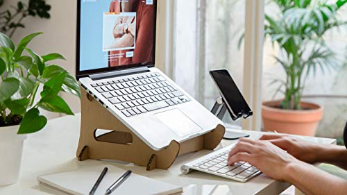 Lüp Lupstand Laptop Stand Basico Plastic-Free Sustainable Recycled Carton lup