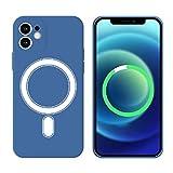 HiChili Custodia Magnete in Silicone per iPhone XR Cerchio Magnetico Integrato con Camera Lens Protective Case...