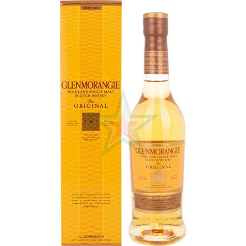 Glenmorangie THE ORIGINAL 10 Years Old Highland Single Malt Scotch Whisky 40,00% 0,35 Liter