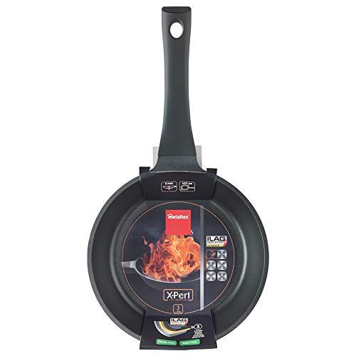 Metaltex XPERT - Sartén Aluminio Fundido 22 cm, antiadherente 3 capas, Full Induction válido para todo tipo de cocinas