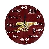 アーセナルFC THE GUNNERS 掛け時計・おしゃれ 壁掛け時計 連続秒針 静音 アナログ クロック 置き時計 北欧 部屋装飾