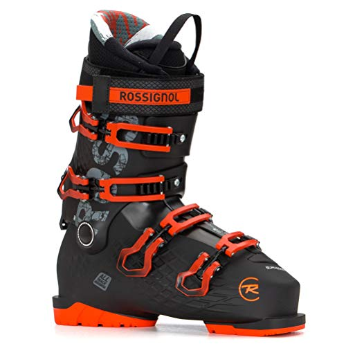 Rossignol Alltrack 90 Botas esquí, Adultos Unisex, Black/Red, 25.5 Mondopoint