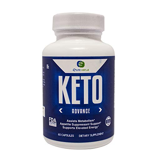 Premium Keto Diet Advance Pills That Work, Used for Burning of Fat Best Weight Loss Pills for Men and Women with Advanced Formulas, Ketosis Supplement and high Energy Booster by Elite Virtue