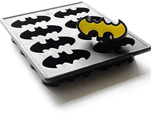 HTL Qualité Alimentaire Moule En Silicone Ice Plateau Batman Congélateur Gâteau Forme de Savon Au Chocolat Crayon Moule Ice Cube Tray Bat Wing Comic Hero Grand Pour Kids Party