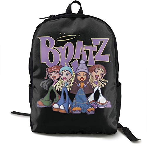 Yaxinduobao Mochila clásica de moda Bratz Backpack Classic Backpack to Go to School. Convenient Storage. Ride Camping.