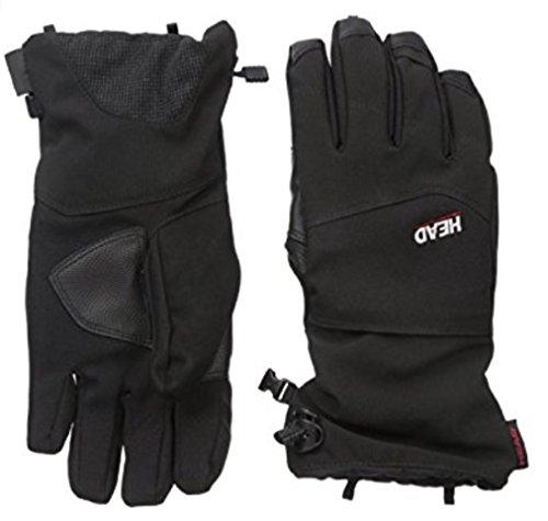 Head Mens Ski/Snow Gloves, Medium, Black