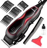 JALIYA Adjustable Electric professional hair clipper 12W AC220-240V with 4 attachment Comb Runtime: