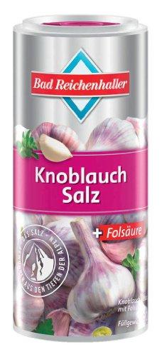 Bad Reichenhaller - Knoblauch Salz 'mit Folsäure' - 90 GR