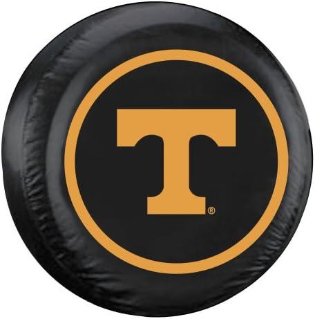 Fremont Die NCAA Tennessee Volunteers Tire Cover Standard Size 27 29 Diameter Black Team Colors product image