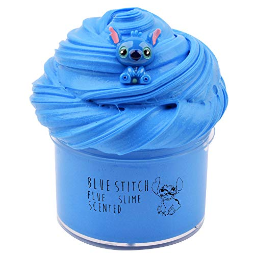 Happyforu Newest Blue Stitch Slime,Super Soft and...