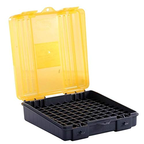Plano 100 Count Handgun Ammo Case (for .357 and .38 Ammo), Multi, One Size (122500)