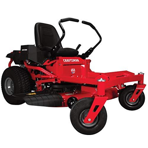 Craftsman Z525 Zero Turn Gas Powered Lawn Mower, Red