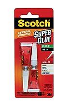 Image of Scotch Super Glue Gel 007. Brand catalog list of Scotch Brand. It's score is 4.2 over 5.