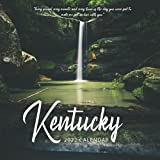"""Kentucky 2022 Calendar: 12-month Calendar - Square Small Gorgeous Calendar 8.5x8.5"""" for planners with large grid for note"""